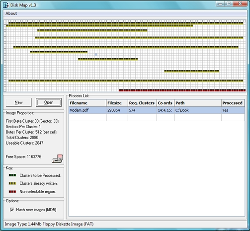 Disk Map Simple Carver Suite Forensic Software Data Recovery - Ediscovery data map