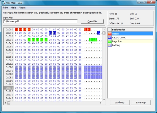 Hex Map Simple Carver Suite Forensic Software Data Recovery - Ediscovery data map